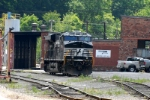 at the old interstate yard at Andover sits some small yard power