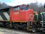 CN 5406 Up-close and Personal