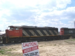 CN 5406 Passes What is Apparently a  Dangerous Crossing