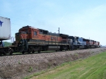 BNSF 8622, EMDX 9055, BNSF 960 & BNSF 4328