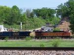 BNSF 4562 & CSX 5232