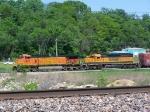 BNSF 4834 & BNSF 6340