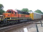 BNSF 7010 Helps Pull Autoracks