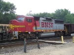 No ATSF or BNSF Identifying Marks on the Nose