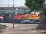 First Time on RRPictureArchives.net: BNSF 7537; Brand New ES44DC