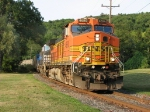 BNSF 4690 Rolling Through Stewart Park