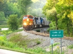 BNSF 4690 On Ithaca Hill