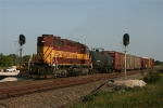 WC 2500 with CN train L510