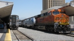 BNSF 7582 leads Amtrak #3
