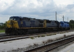 Locomotives resting in Sanford