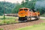 BNSF JHMX Coal Train