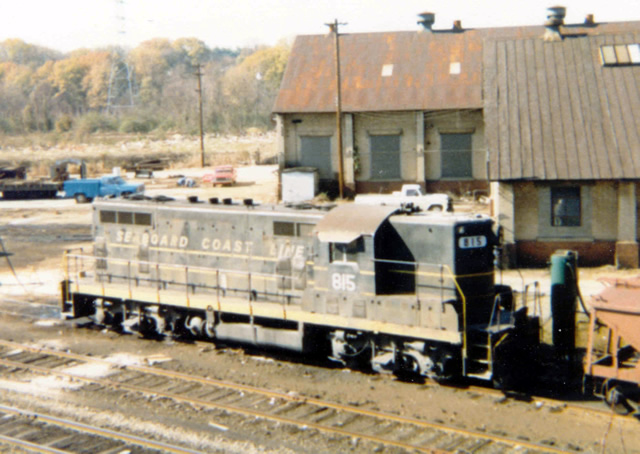 SCL 815 at the old P&N Shops