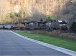 NS #9751, 8648, & UP 4874