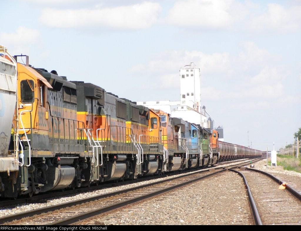 BNSF 2603