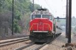 MARC 57 pushes train 429 towards D.C.
