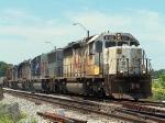 Eastbound KCS Manifest With KCS 682 - White Scheme
