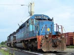 Tied Down KCS Locomotives