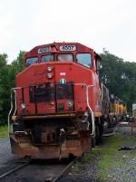 Tied Down LAS Locomotives