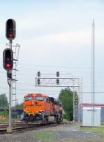 Southbound KCS Loaded Coal Train DPU's