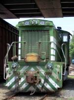 Tied Down F&P Locomotive