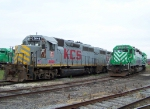 Stored KCS Locomotives