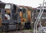 CNW 5515 GP40 and ex-NS GP40X