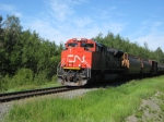 CN 8002 notched up heading east