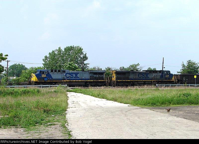 CSX 384 & 234