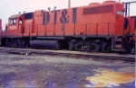 One of 3 DT&I Gp38s not in GT paint 1988