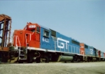 Ex DT&I Gp40-2 on 476  1989