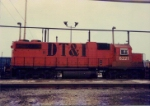 One of 3 DT&I Gp38s not in GT colors 1988