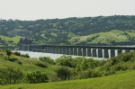 The impressive DSRC (Ex-Milwaukee Road bridge) over the Missouri River