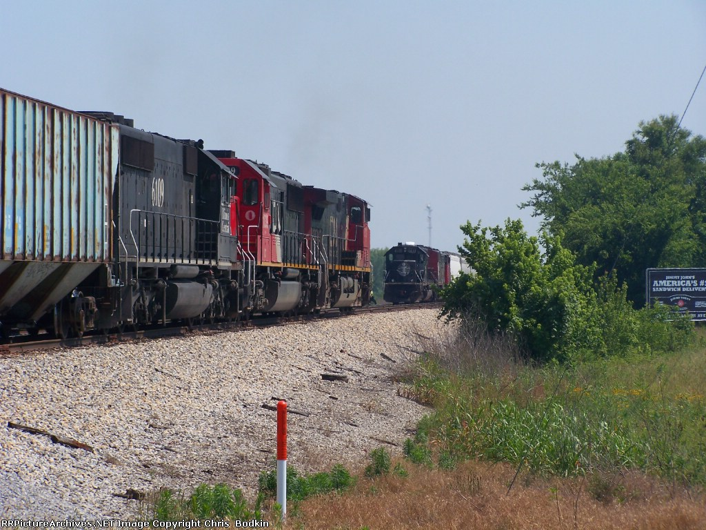 The last two deathstar SD40-2's