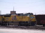 UP 8361 leads a WB intermodal at 12:30pm