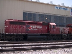 CP 5701 by the El Paso locomotive facility at 1:11pm