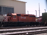 CP 5643 by the El Paso locomotive facility at 1:11pm