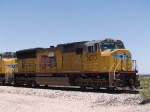 UP 3873 leads an EB intermodal at 12:26pm