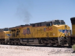 UP 5345 #2 power in an EB intermodal at 12:26pm