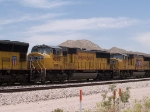 UP 4082 #2 power in a WB doublestack at 1:18pm