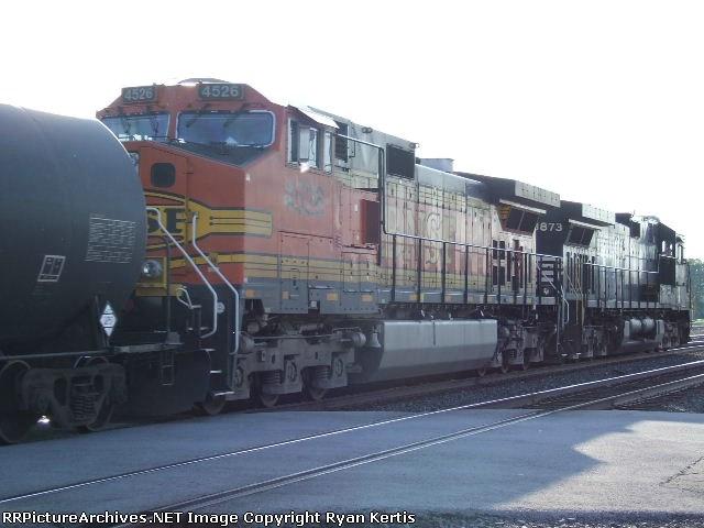 BNSF 4526