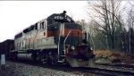 Ex NYC Gp40 347 on Switcher 3 Riby Yd March 1999