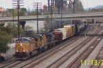 CSX train Q685 heads south