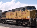 UP 9605 #3 power in an EB intermodal at 2:29pm