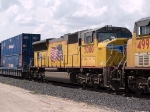 UP 5080 #3 power in an EB intermodal (KCIAT) at 3:06pm