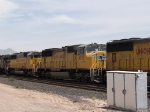 UP 4079 #2 power in an EB intermodal at 11:48am