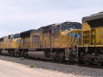 UP 3840 #2 power in an EB intermodal at 1:13pm