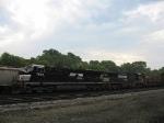 NS 7589 & 9155 under an undecided sky