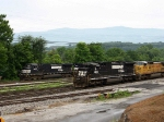 NS 8652 & Company arrive from Hagerstown, MD.