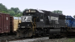 NS 6698 bringing C&W freight in from Harrisonburg
