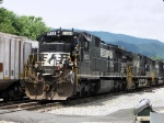 NS 8554 and crew just in from Hagerstown, MD.